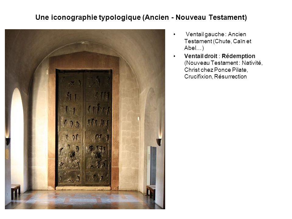 Une iconographie typologique (Ancien - Nouveau Testament)