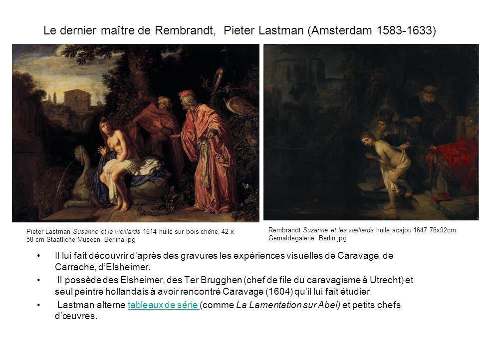 Le dernier maître de Rembrandt, Pieter Lastman (Amsterdam 1583-1633)