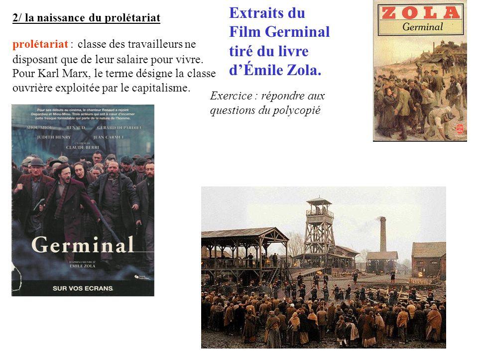 Extraits du Film Germinal tiré du livre d'Émile Zola.