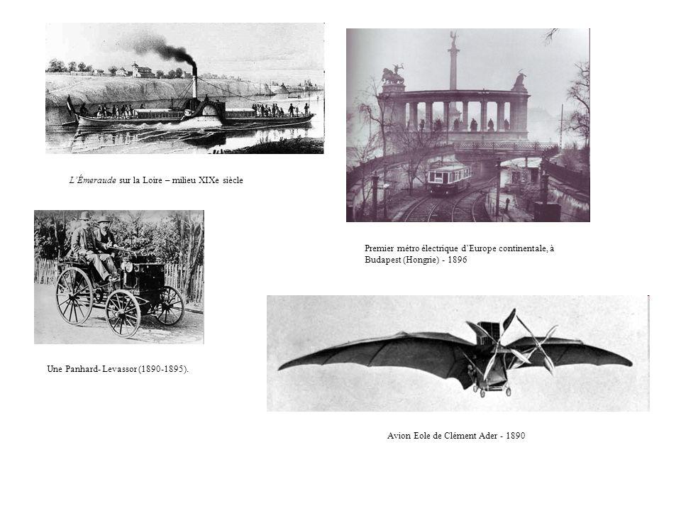 L'Émeraude sur la Loire – milieu XIXe siècle