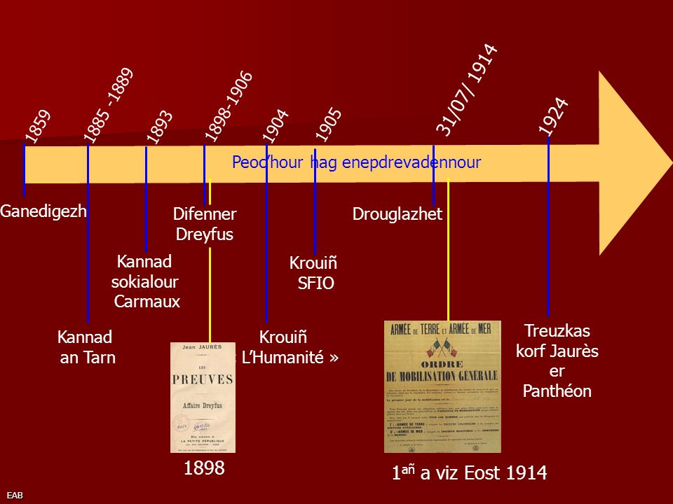 Treuzkas korf Jaurès er Panthéon