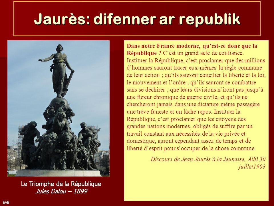 Jaurès: difenner ar republik