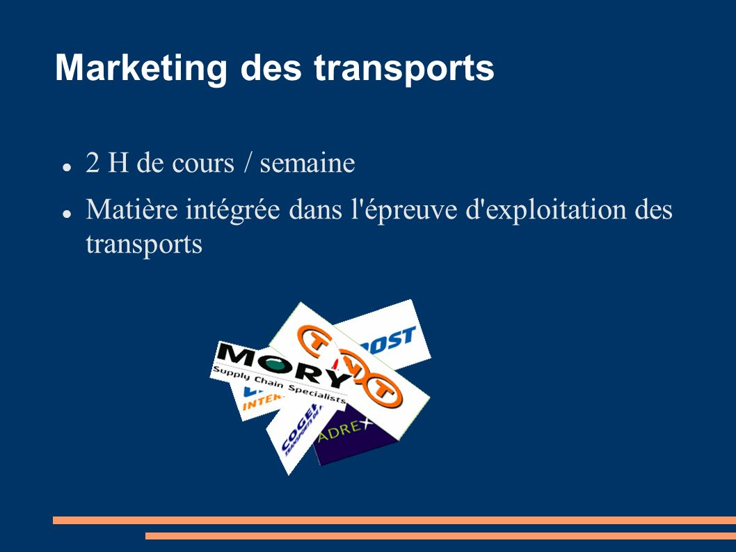 Marketing des transports