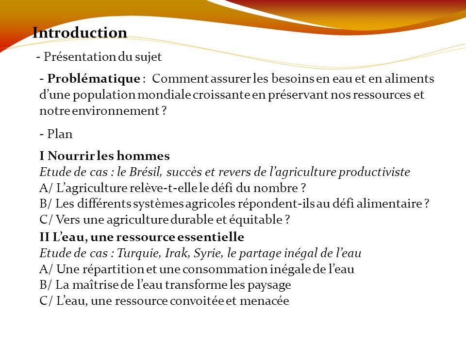 Introduction - Présentation du sujet