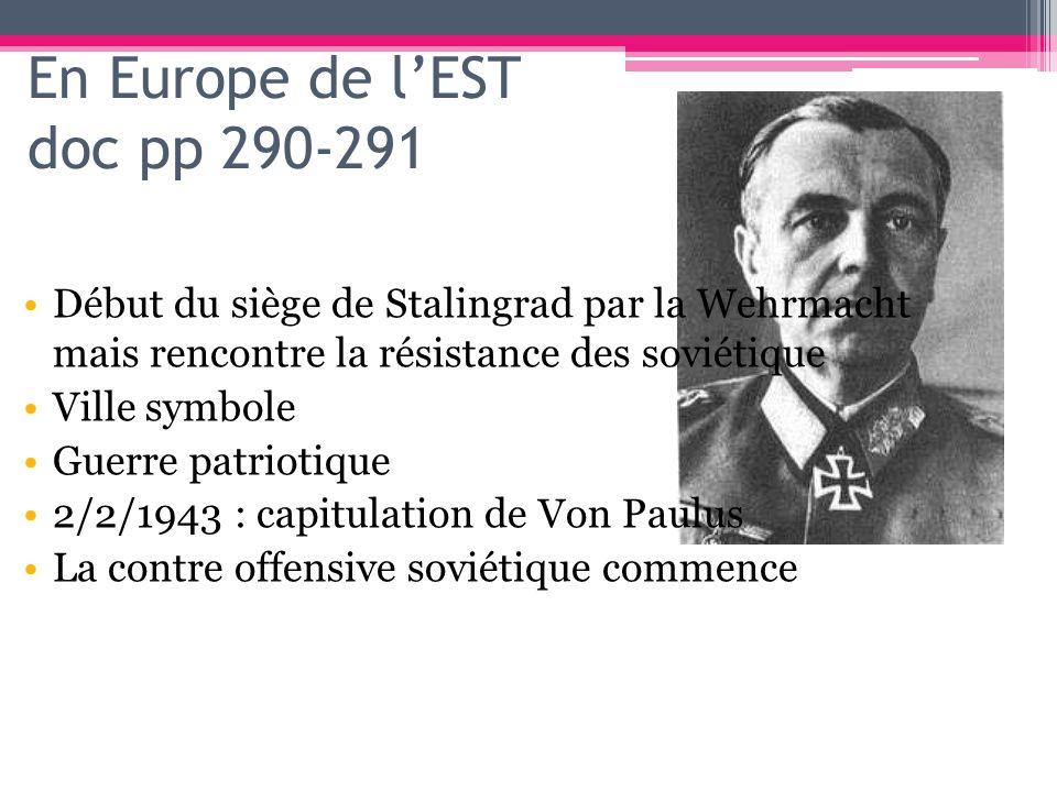 En Europe de l'EST doc pp 290-291