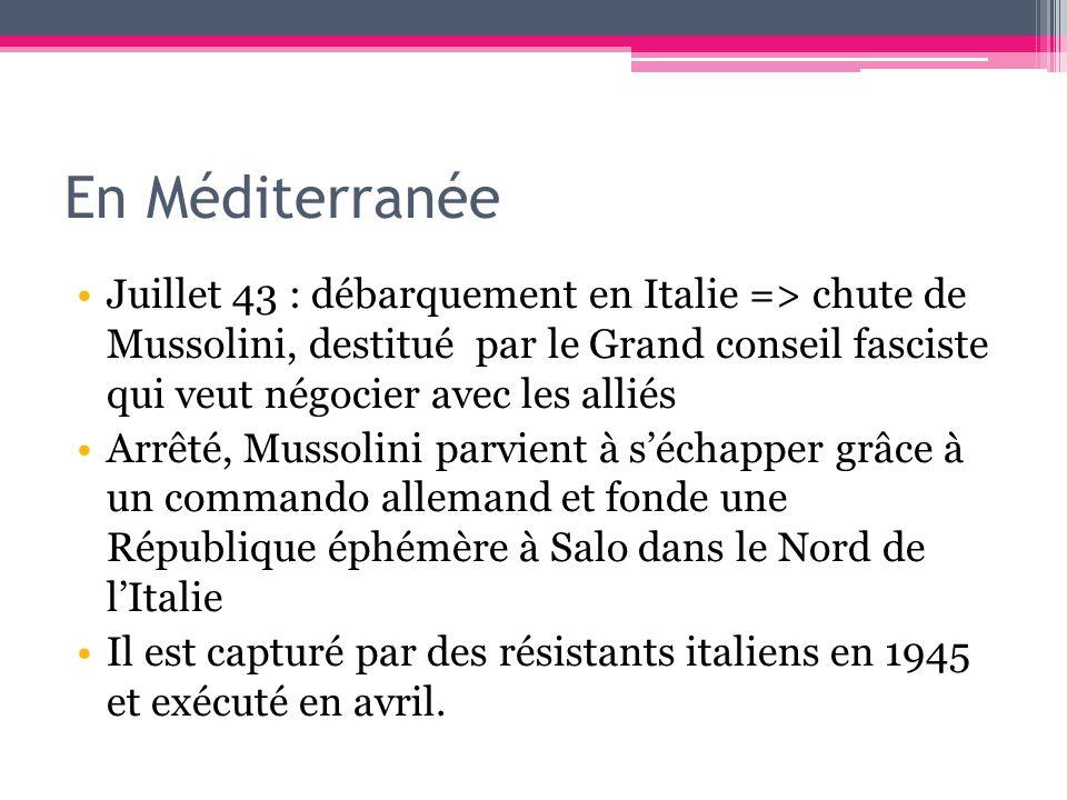 En Méditerranée