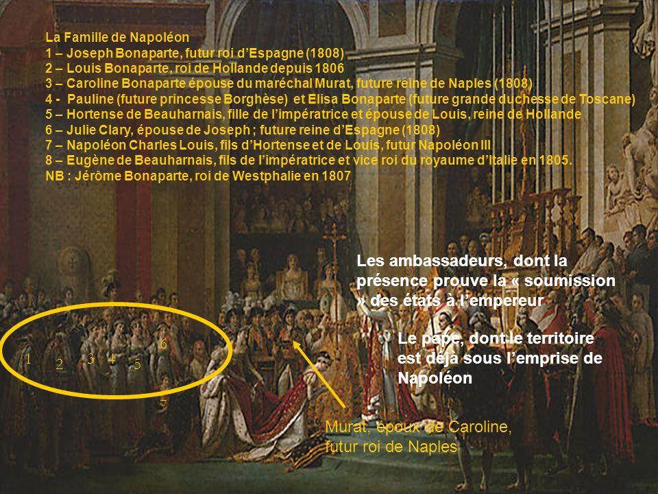 Le pape, dont le territoire est déjà sous l'emprise de Napoléon 6 1 3