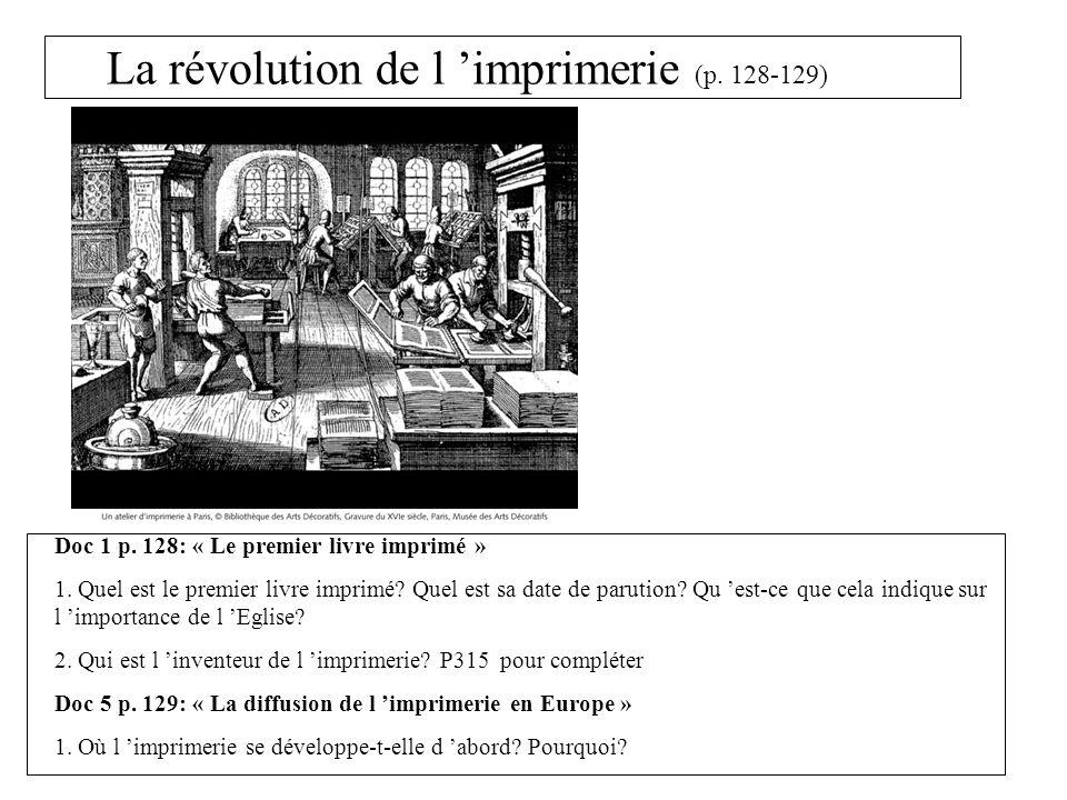 La révolution de l 'imprimerie (p. 128-129)