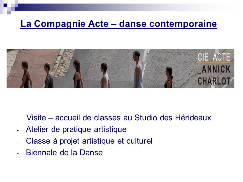 La Compagnie Acte – danse contemporaine