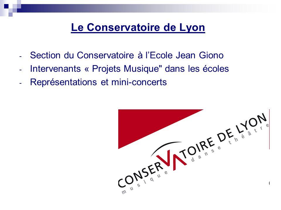 Le Conservatoire de Lyon