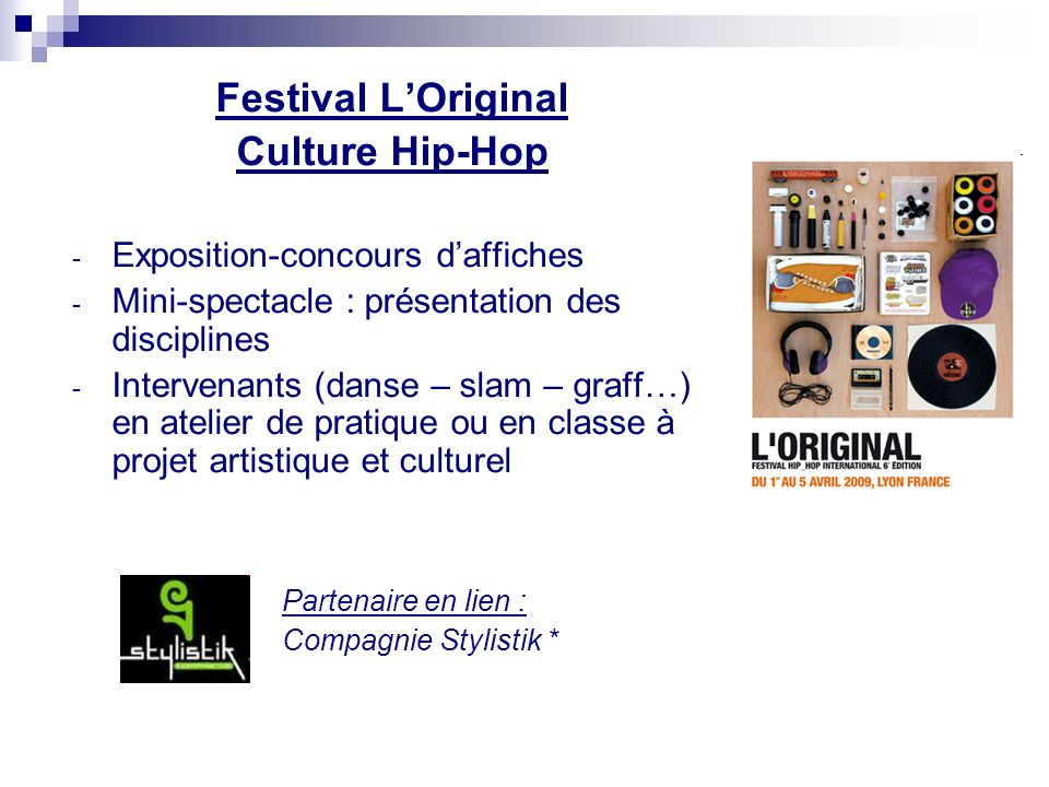 Festival L'Original Culture Hip-Hop