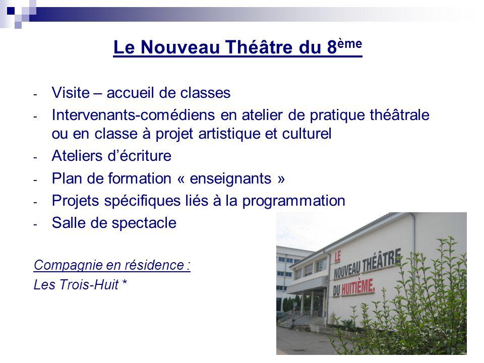 Le Nouveau Théâtre du 8ème