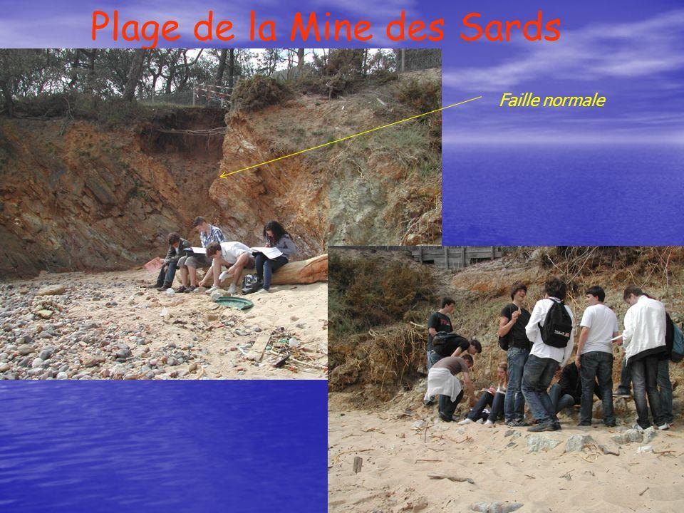 Plage de la Mine des Sards