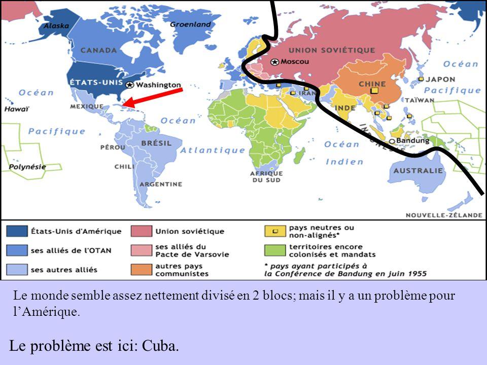 Le problème est ici: Cuba.