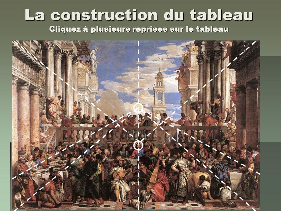 La construction du tableau Cliquez à plusieurs reprises sur le tableau