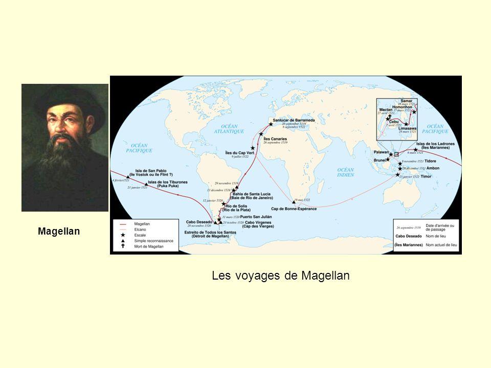 Les voyages de Magellan