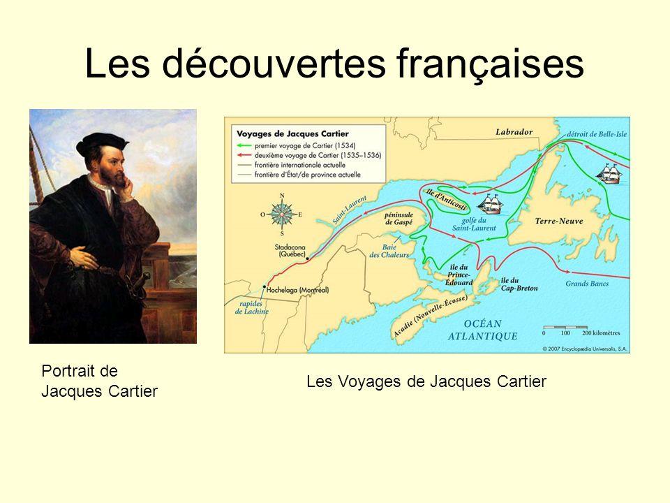 Les découvertes françaises