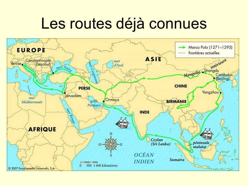 Les routes déjà connues