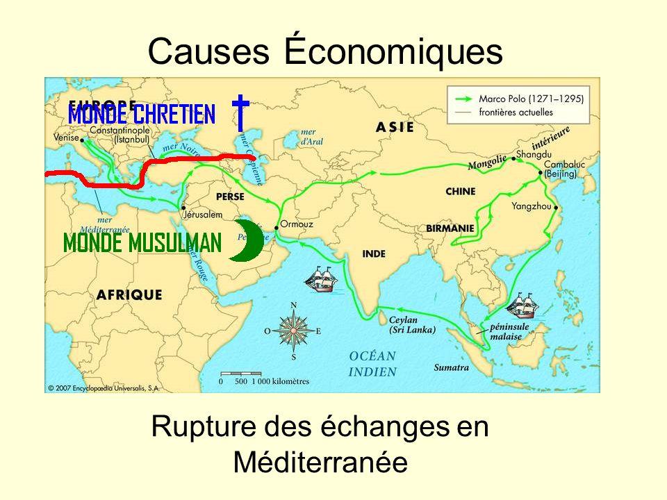 Rupture des échanges en Méditerranée