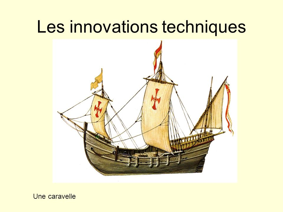 Les innovations techniques