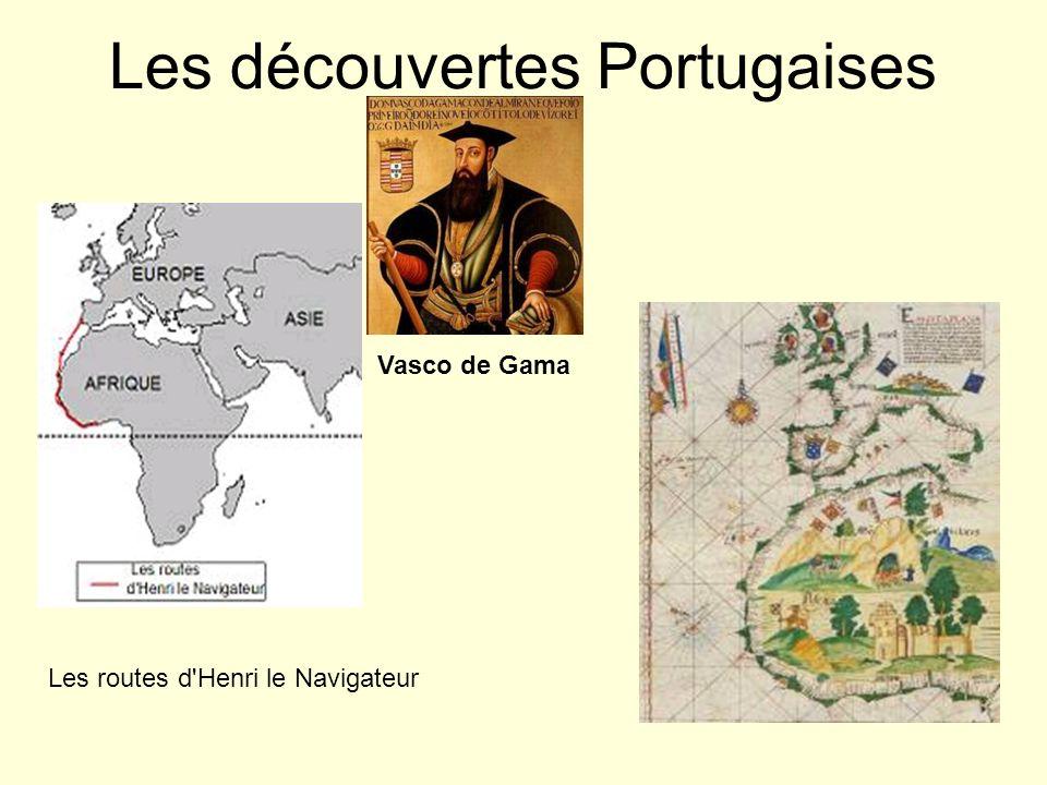 Les découvertes Portugaises