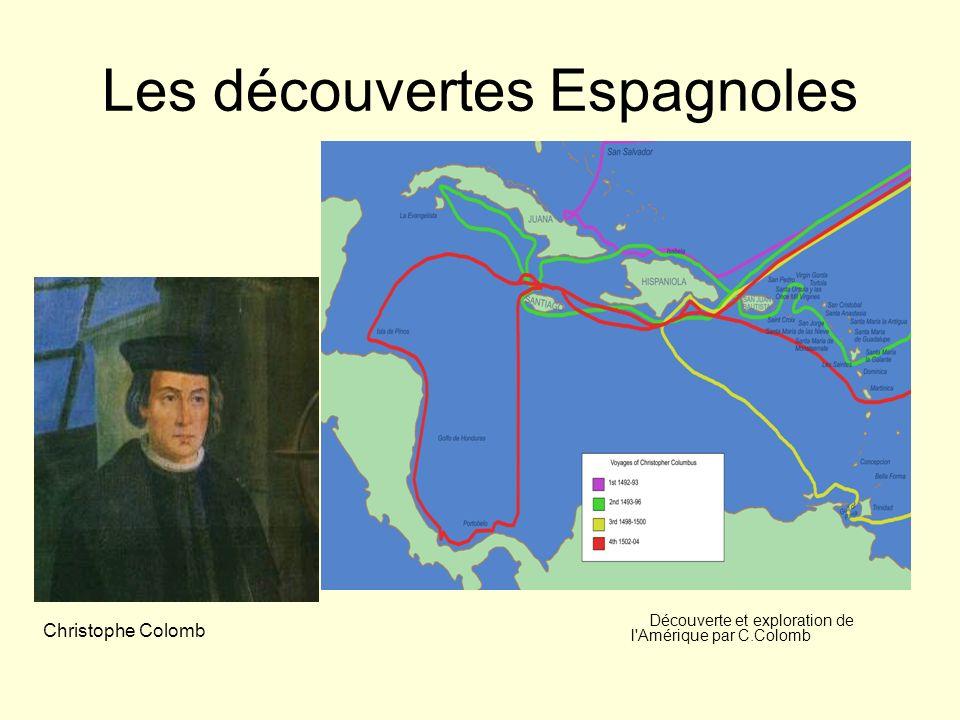 Les découvertes Espagnoles