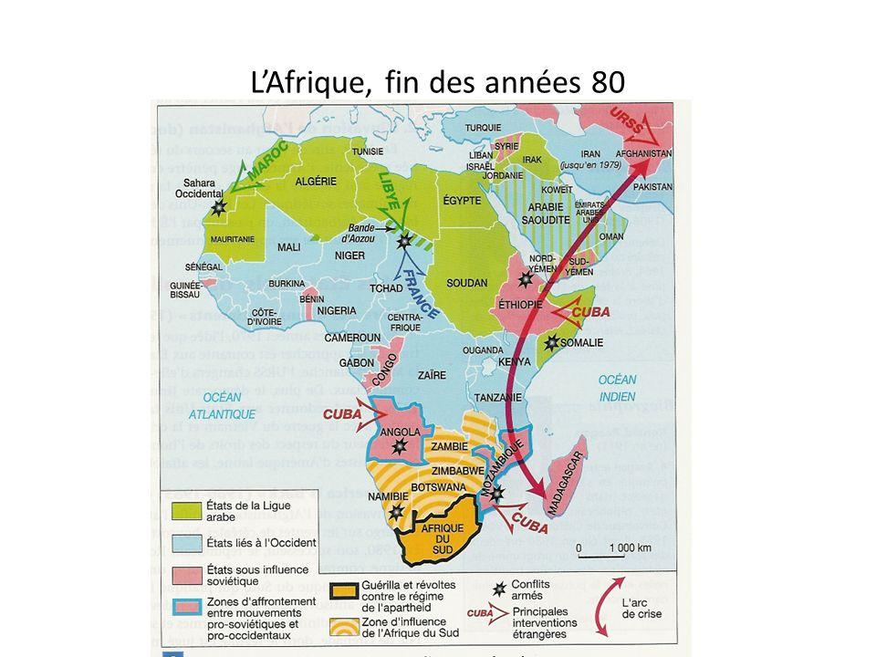 L'Afrique, fin des années 80