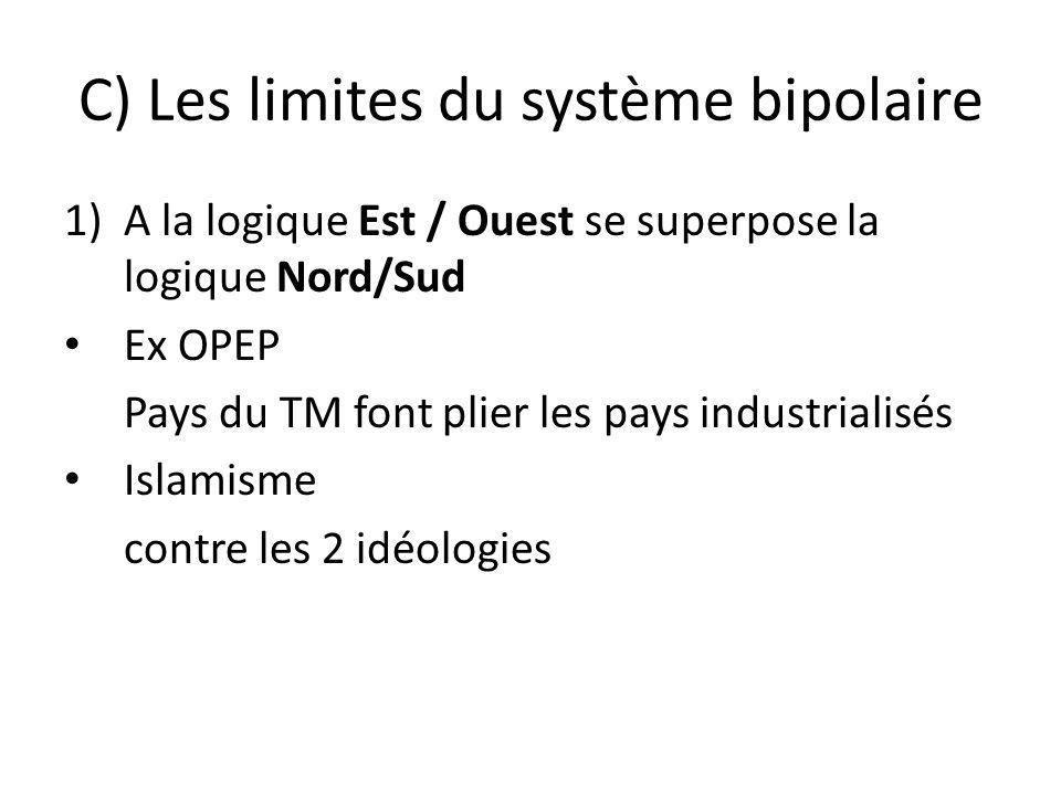 C) Les limites du système bipolaire