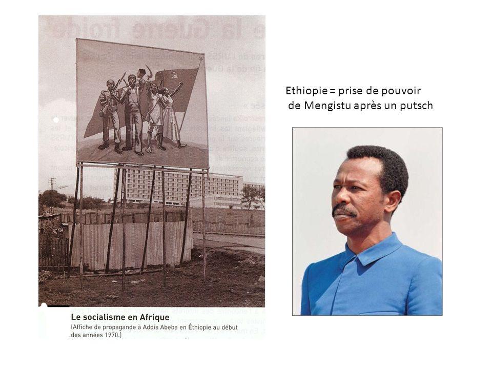 Ethiopie = prise de pouvoir