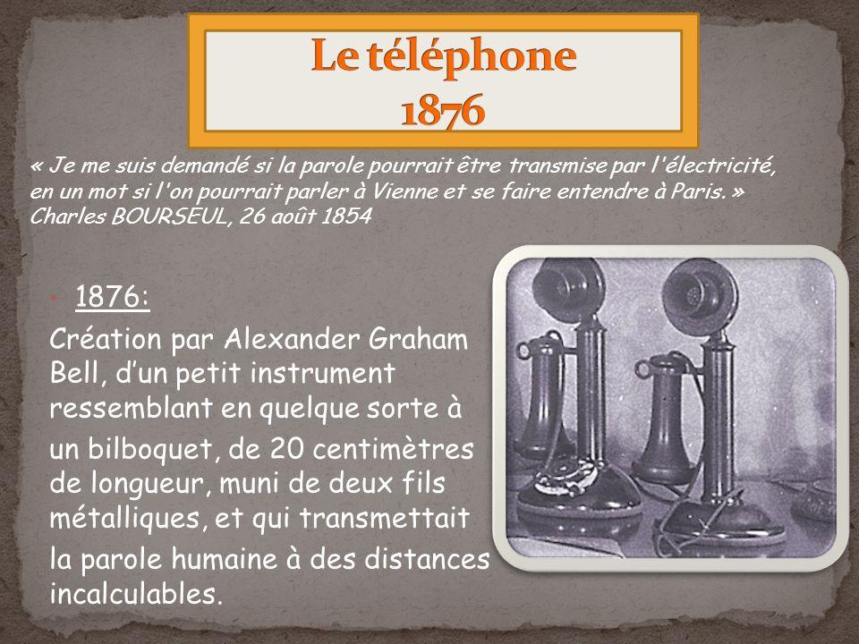 Le téléphone 1876