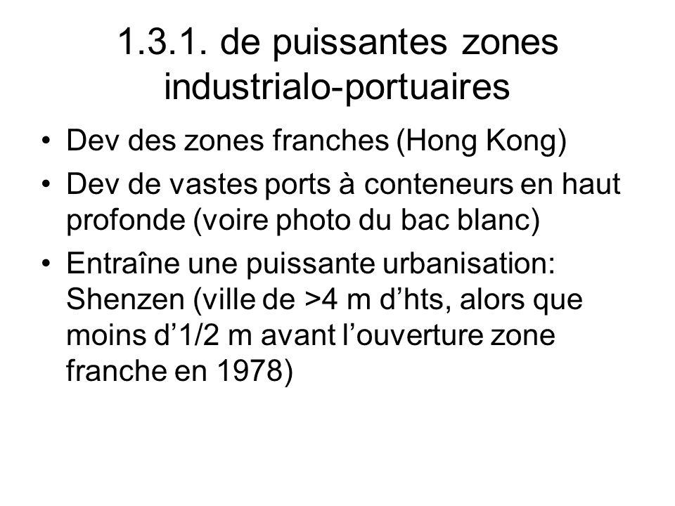 1.3.1. de puissantes zones industrialo-portuaires