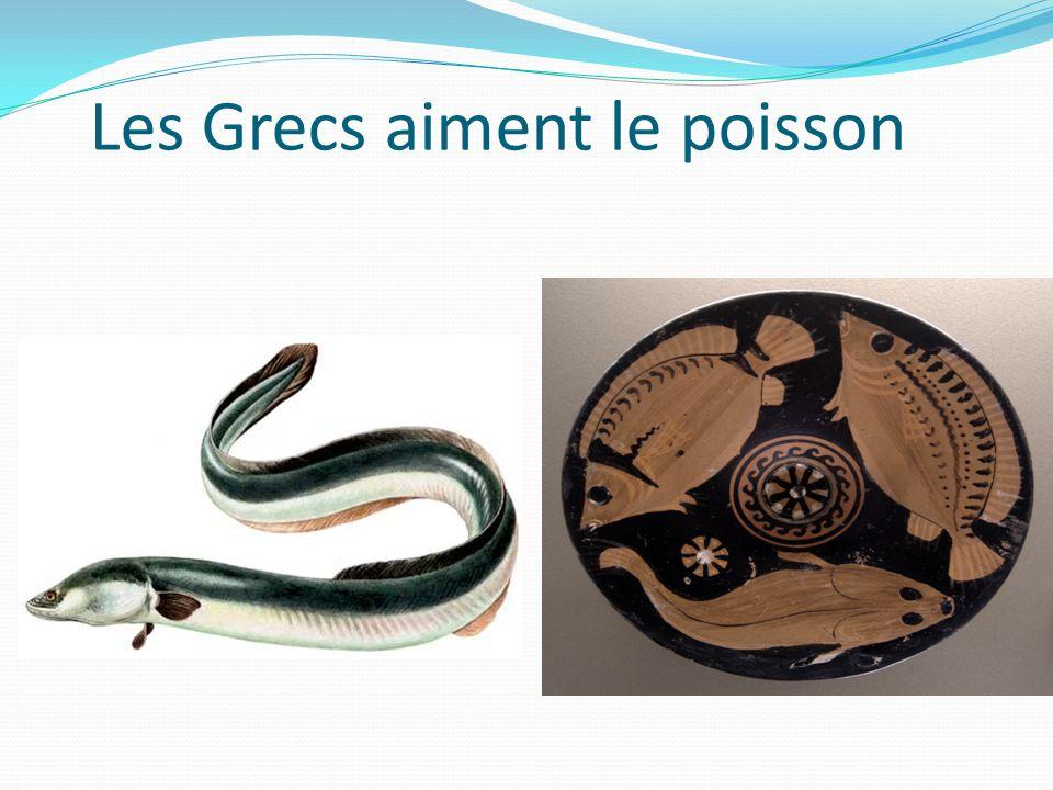 Les Grecs aiment le poisson
