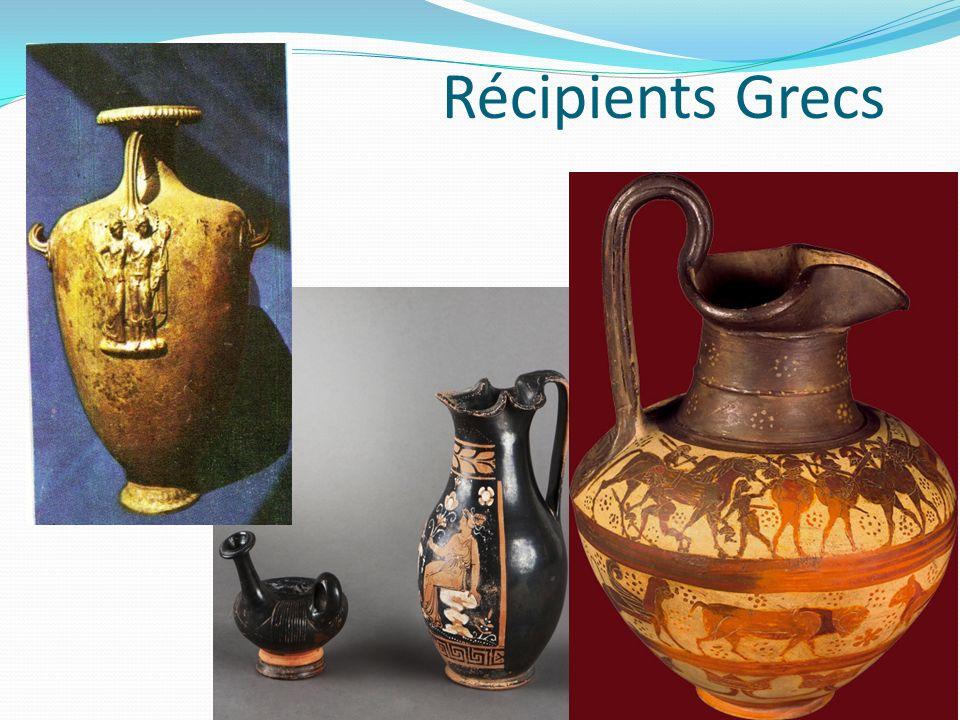 Récipients Grecs