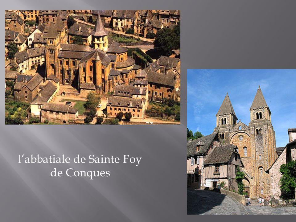 l'abbatiale de Sainte Foy de Conques