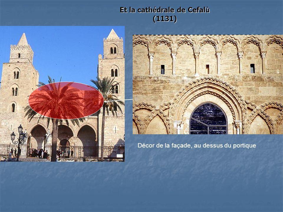 Et la cathédrale de Cefalù (1131)