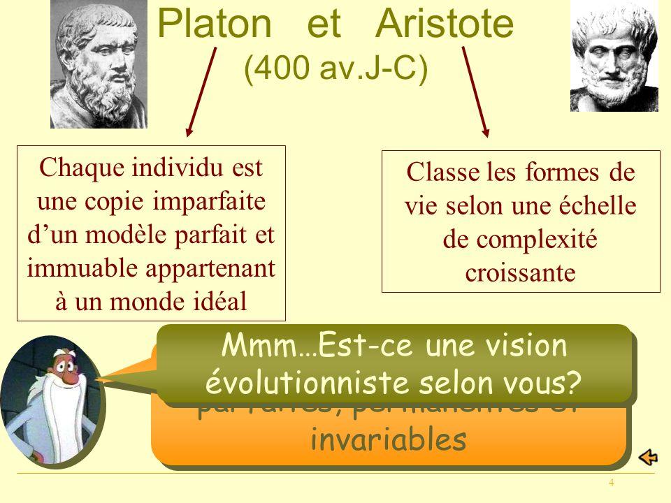 Platon et Aristote (400 av.J-C)