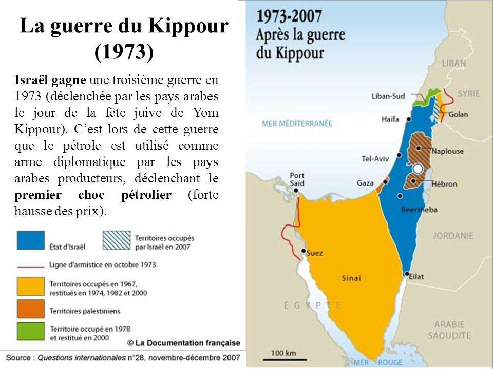 La guerre du Kippour (1973)