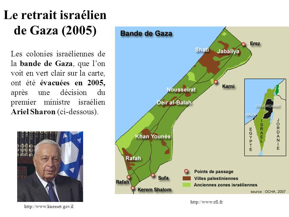 Le retrait israélien de Gaza (2005)