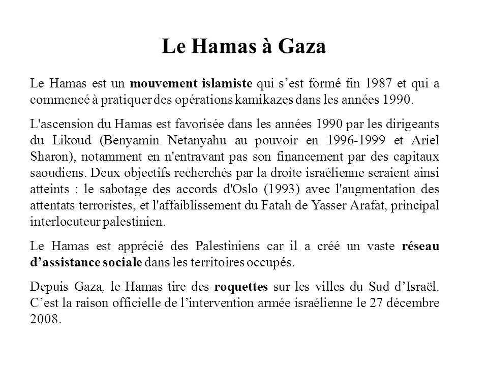 Le Hamas à Gaza