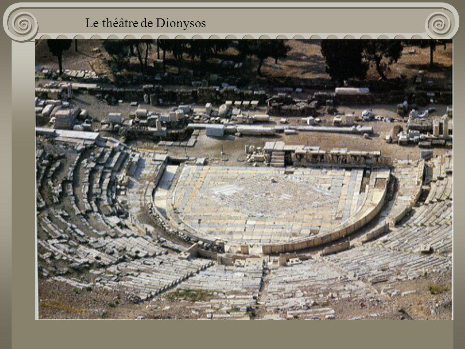 Le théâtre de Dionysos Acropole
