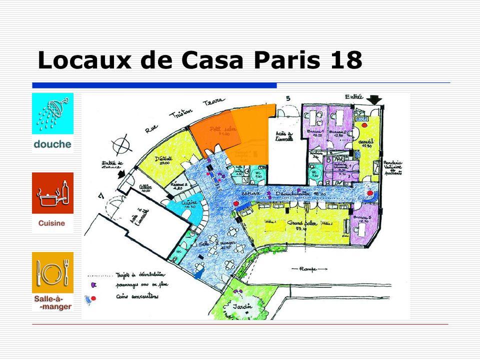 Locaux de Casa Paris 18
