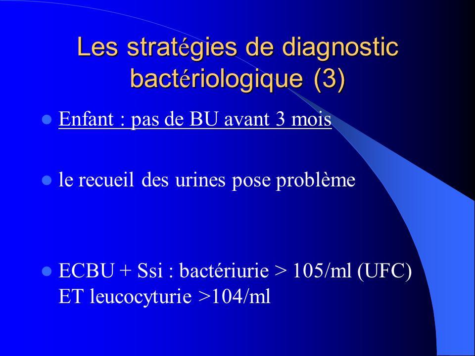 Les stratégies de diagnostic bactériologique (3)