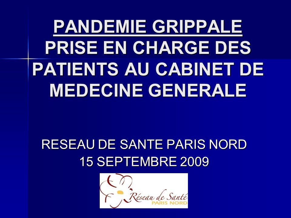 RESEAU DE SANTE PARIS NORD 15 SEPTEMBRE 2009