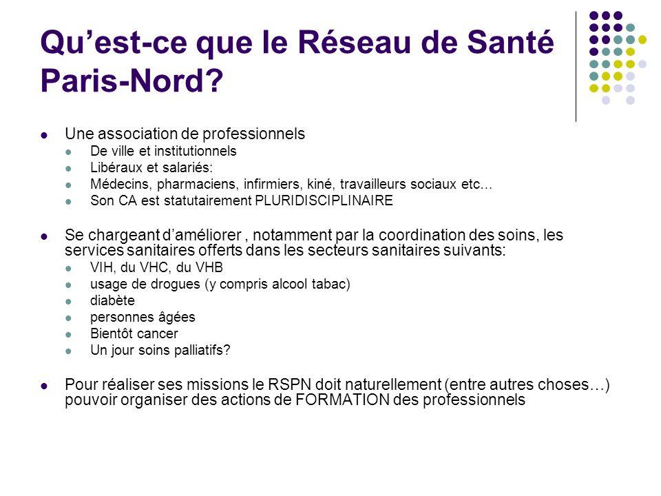 Qu'est-ce que le Réseau de Santé Paris-Nord
