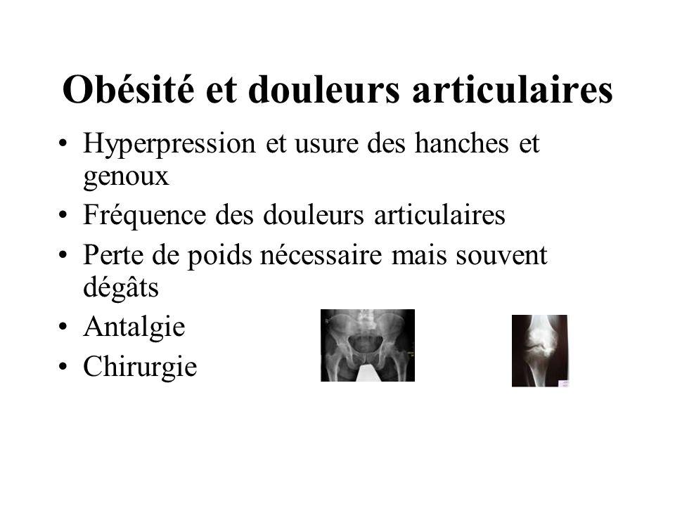 Obésité et douleurs articulaires