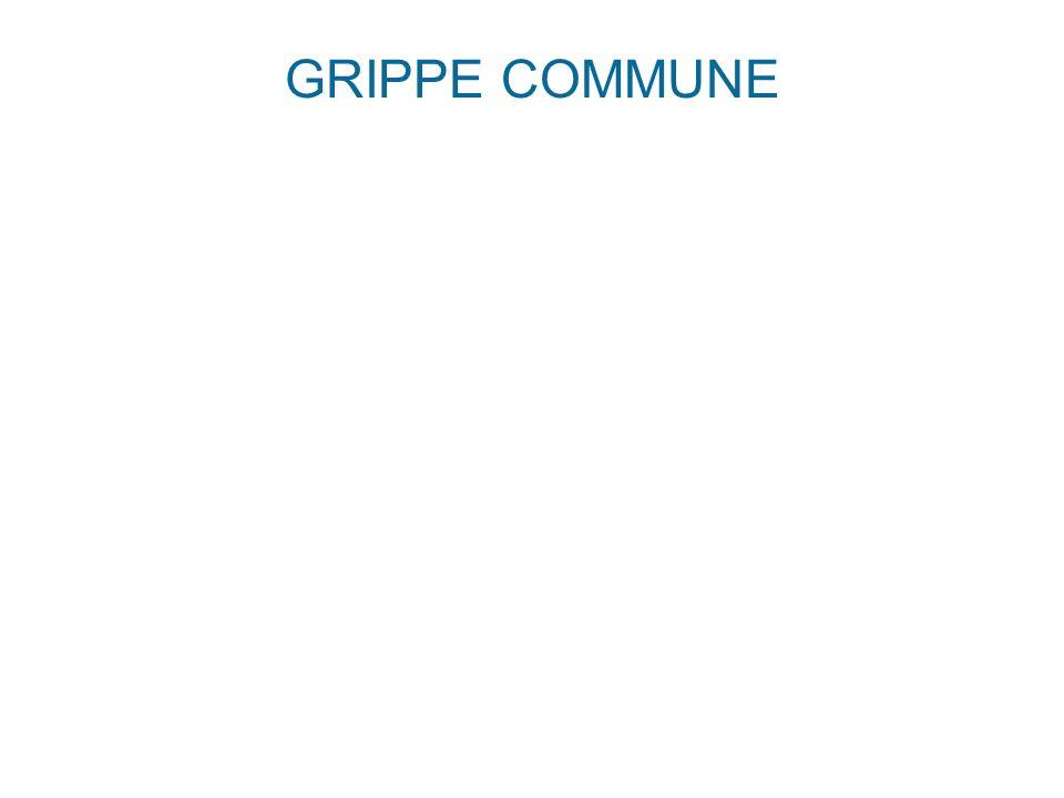 GRIPPE COMMUNE