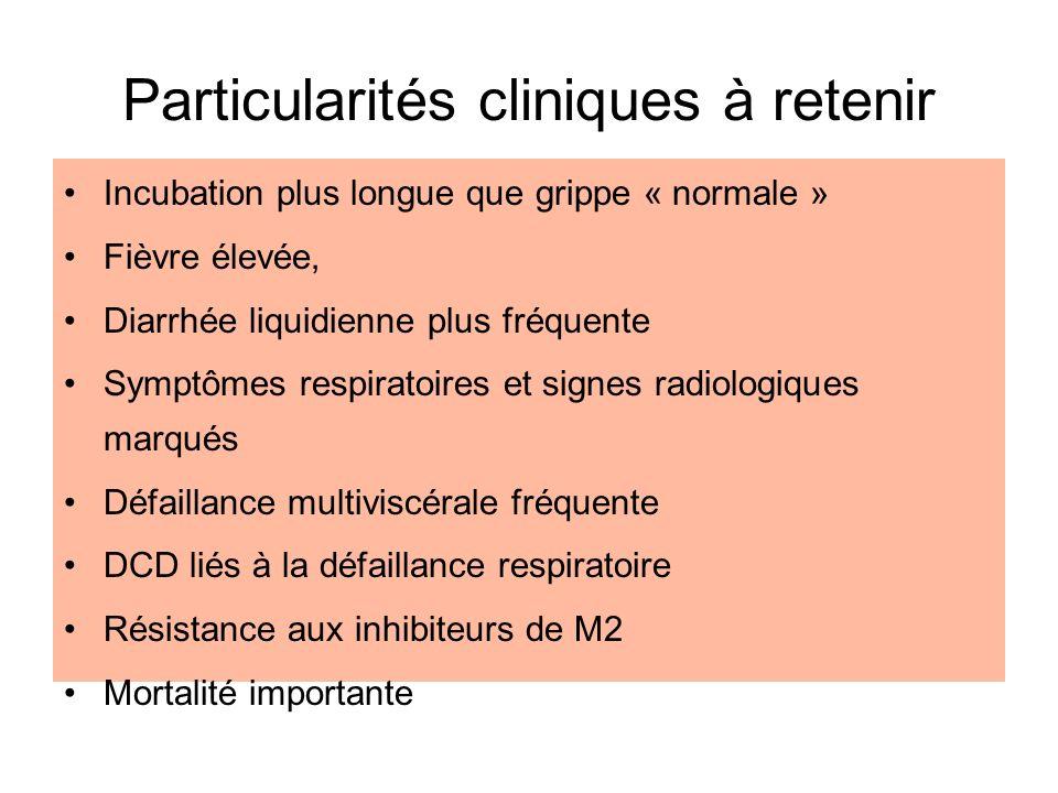 Particularités cliniques à retenir
