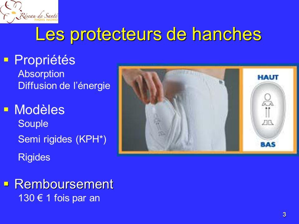 Les protecteurs de hanches