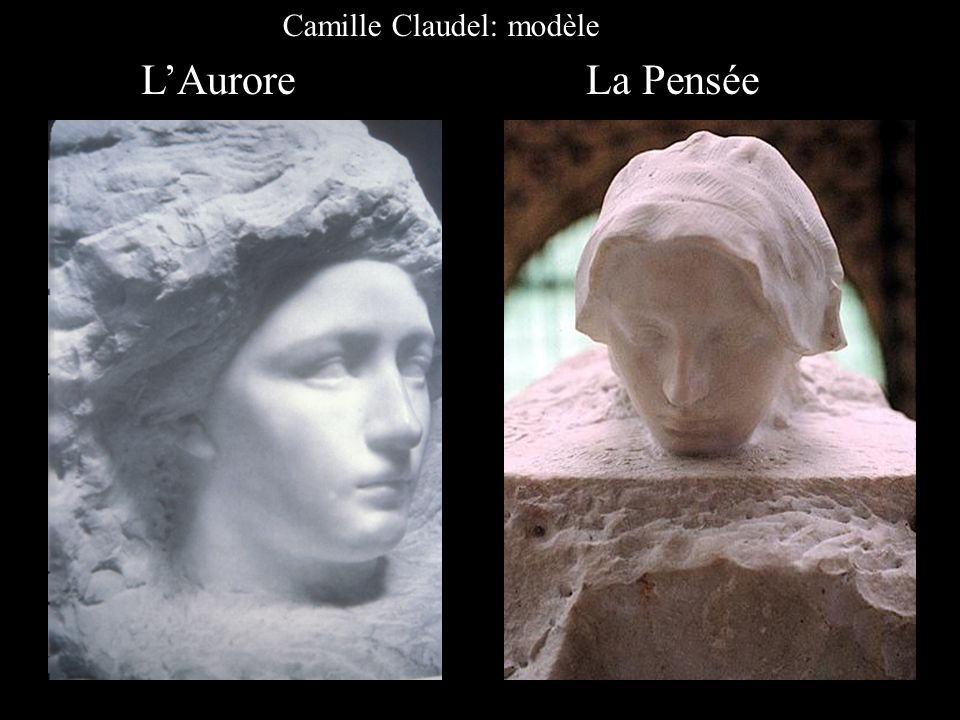 Camille Claudel: modèle
