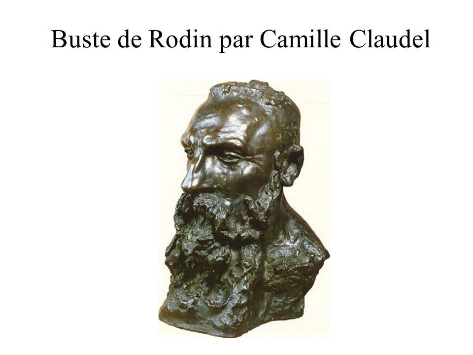 Buste de Rodin par Camille Claudel